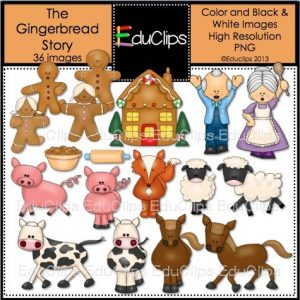 The Gingerbread Story Bundle 2