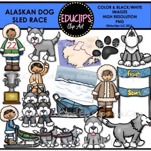 Alaskan Sled Race