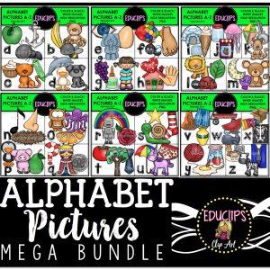Alphabet Pictures Mega bundle