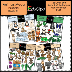 Animals Mega Bundle