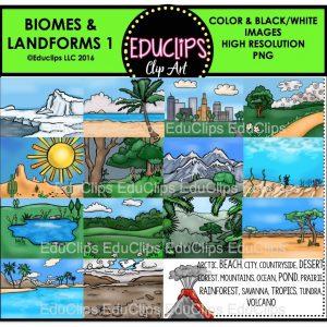 Biomes & Landforms 1