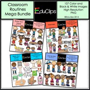 Classroom routines mega bundle
