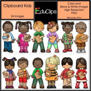 Clipboard Kids