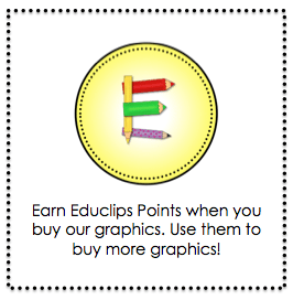 Educlips points button