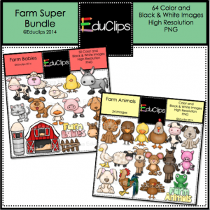Farm Animals Super Bundle