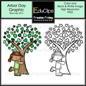 Freebie Friday arbor day
