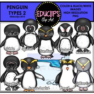Penguin Types 2