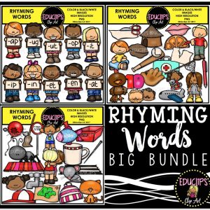 Rhyming Words Big bundle
