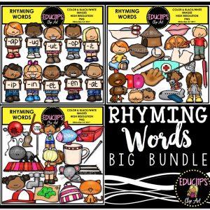 Rhyming Words Big bundle