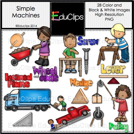 Simple Machines Clipart images