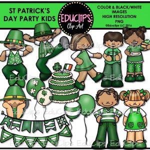 St Patricks Day Party Kids