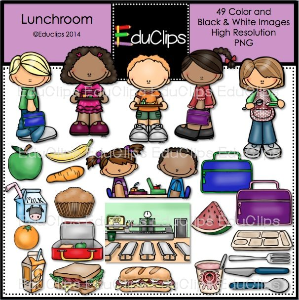 free lunch room clipart - photo #10