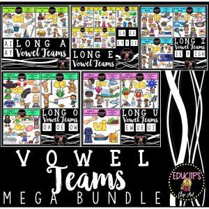 Vowel Teams Mega Bundle