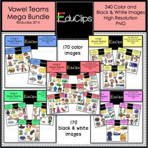 Vowel Teams Mega Bundle
