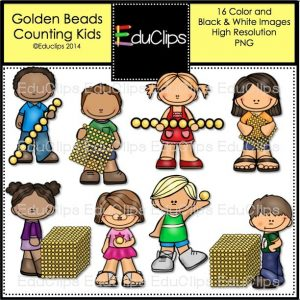 Golden Beads Counting Kids