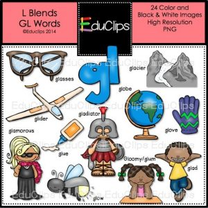 L Blends GL Words