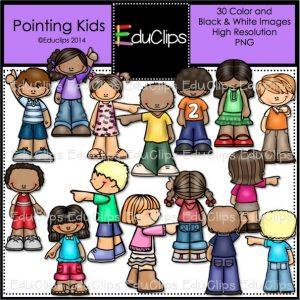 Pointing Kids