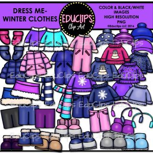 Dress Me- Winter clothes