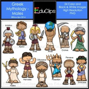 Greek Mythology Males