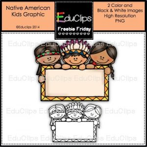 FF Native American Kids Graphic