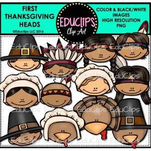 First Thanksgiving Heads