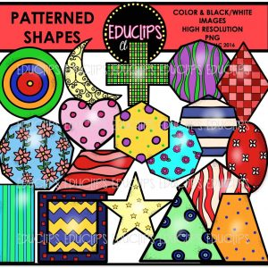 Patterned Shapes