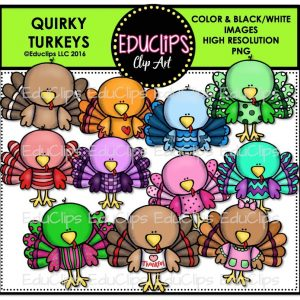 Quirky Turkeys