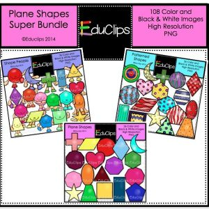 Planes Shapes Super Bundle