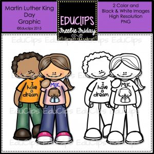 FF Martin Luther King Day Graphic