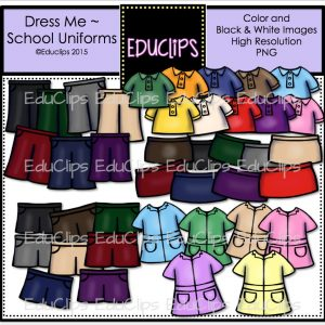 Dress Me School Uniforms 1