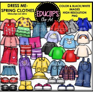Dress Me - Spring Clothes