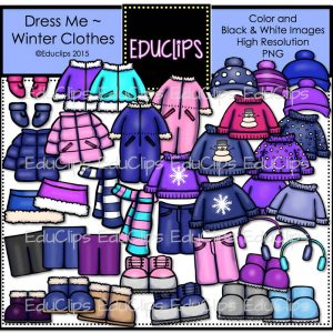 Dress Me Winter Clothes