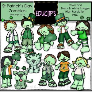St. Patrick's Day Zombies