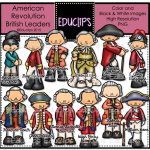 American Revolution - British Leaders