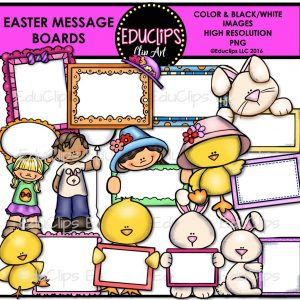 Easter Message Boards