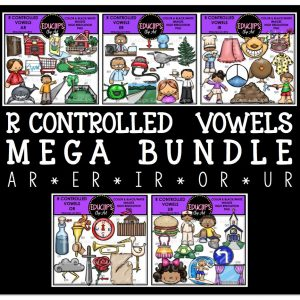 R Controlled Vowels Mega Bundle