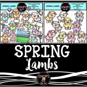 Spring lambs Bundle