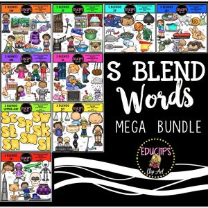 s blend words mega bundle
