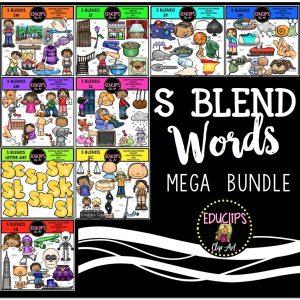 s blend words mega bundle