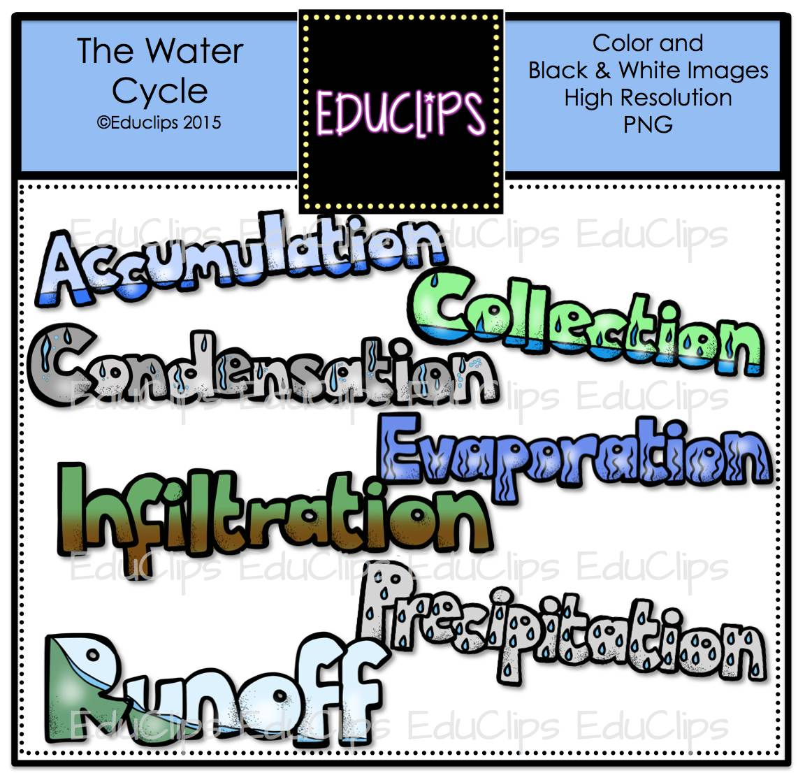 water cycle clip art - photo #25