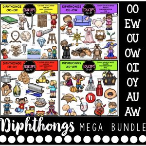 Diphthongs Mega Bundle