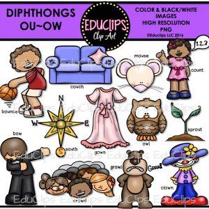 Diphthongs Ou Ow