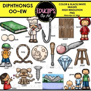 Diphthongs oo ew