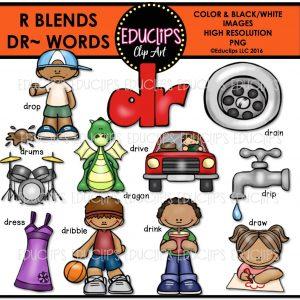 R blends dr