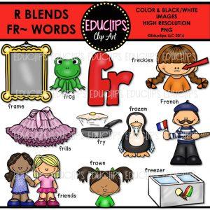 R blends fr