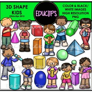 3D Shape Kids