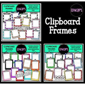 Clipboard Frames