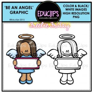 FF Be An Angel Day Graphic