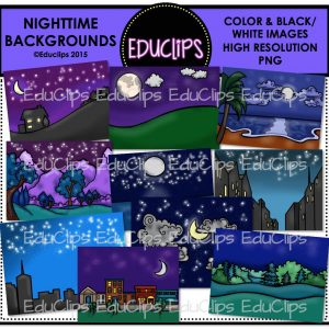 Nighttime Backgrounds