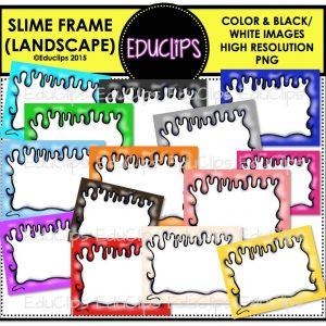 Slime Frame (Landscape)